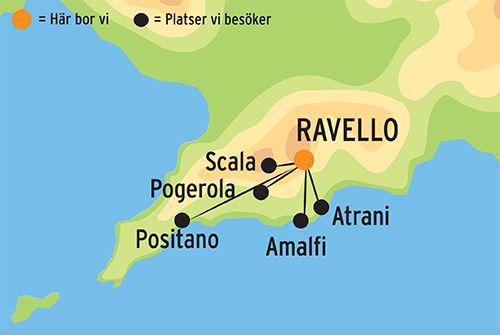 Vandringsresa Pa Amalfikusten I Italien Kulturresor Europa