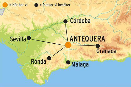 Resa I Andalusien Spanien Rundresor Med Kulturresor Europa