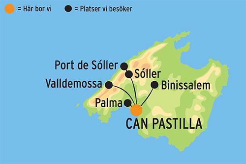 Karta Nordostra Spanien.Rundresa Pa Vackra Mallorca Resa Med Kulturresor Europa