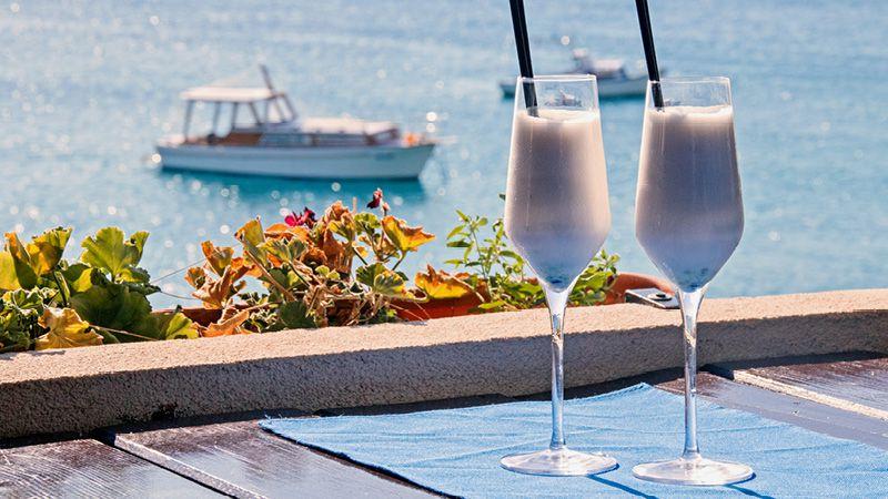 coctails vid havet i kroatien