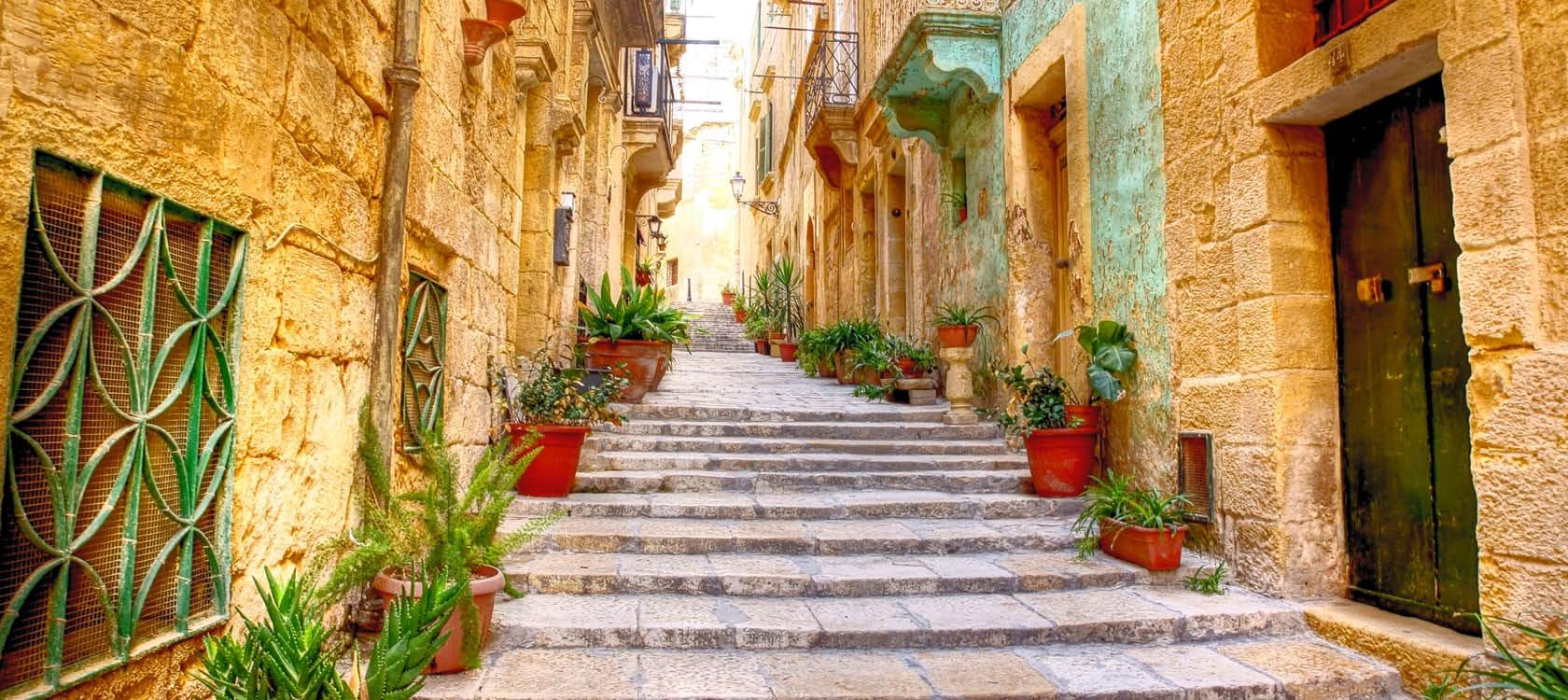 Reseberättelse från ön Malta.