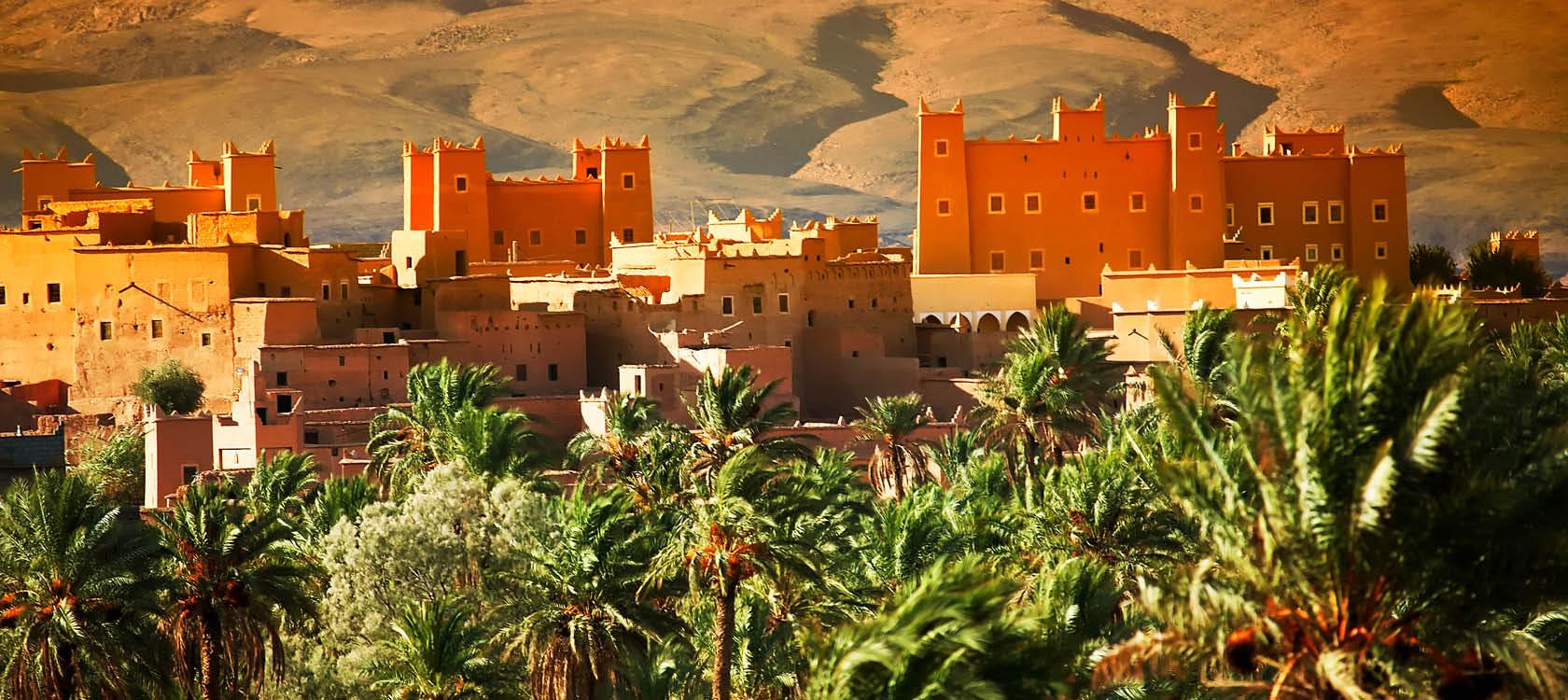 Ait Benhaddou i Marocko.