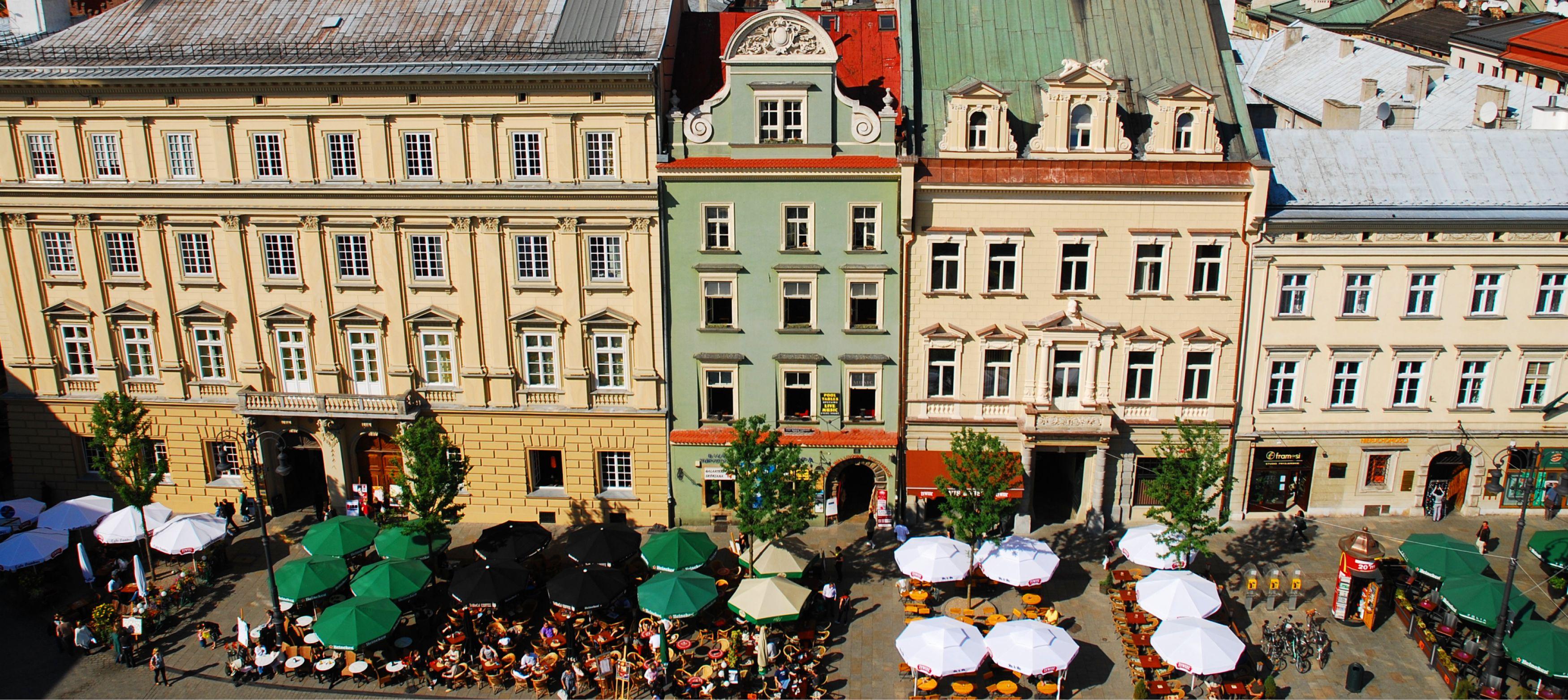 restauranger i huvudstaden krakow, polen