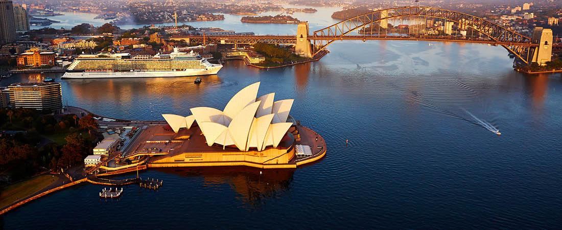 Sydney och operahuset