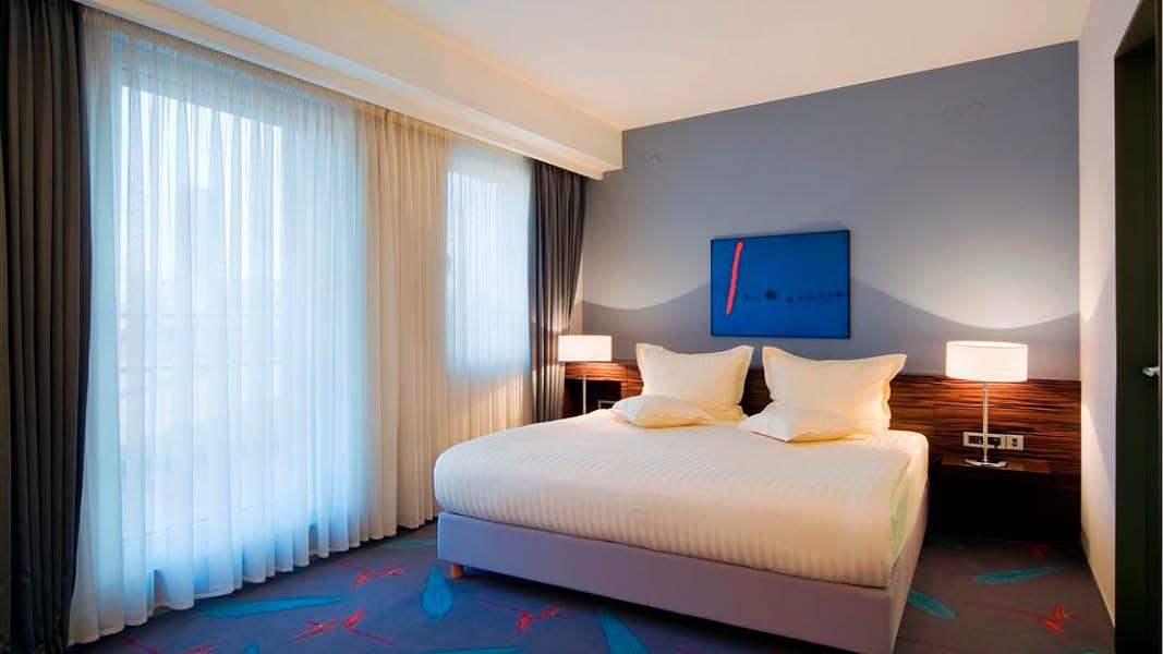Dubbelrum med badrumsöversikt, Life Design Hotel på resa till Balkan
