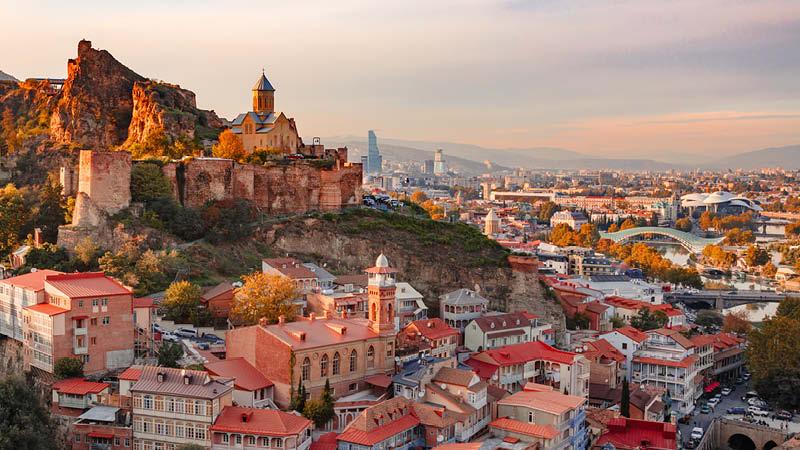 Tbilisi i Georgien.