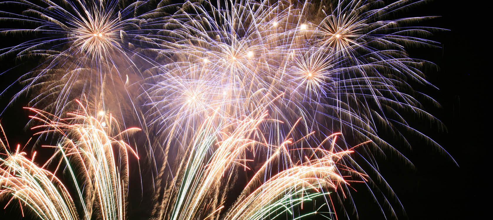 fira in nyår på en nyårsresa i europa