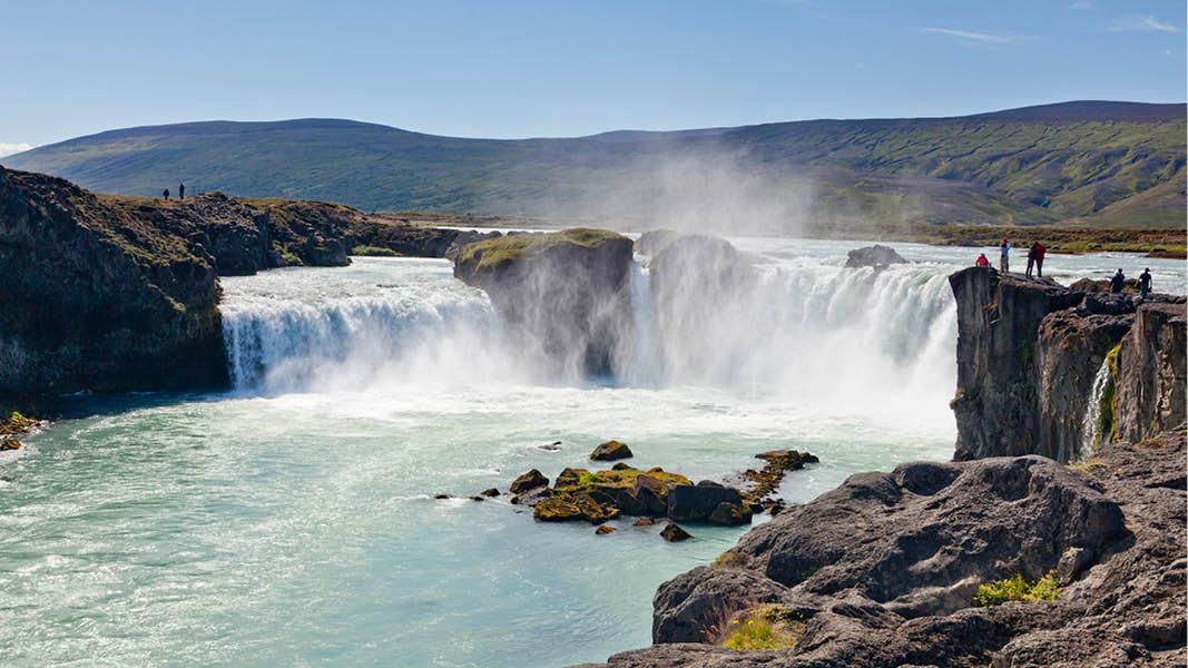 gudafors vattenfall på rundresa på island