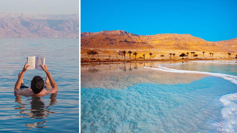 huge discount 282a8 9eb4a Döda havet i Israel på en rundresa till Israel och Jordanien.