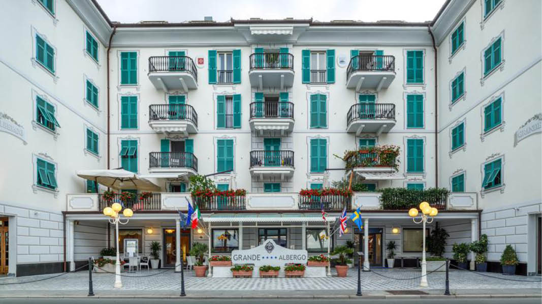 Hotell Grande Albergo 4 stjärnor i Cinque Terre, Italien.