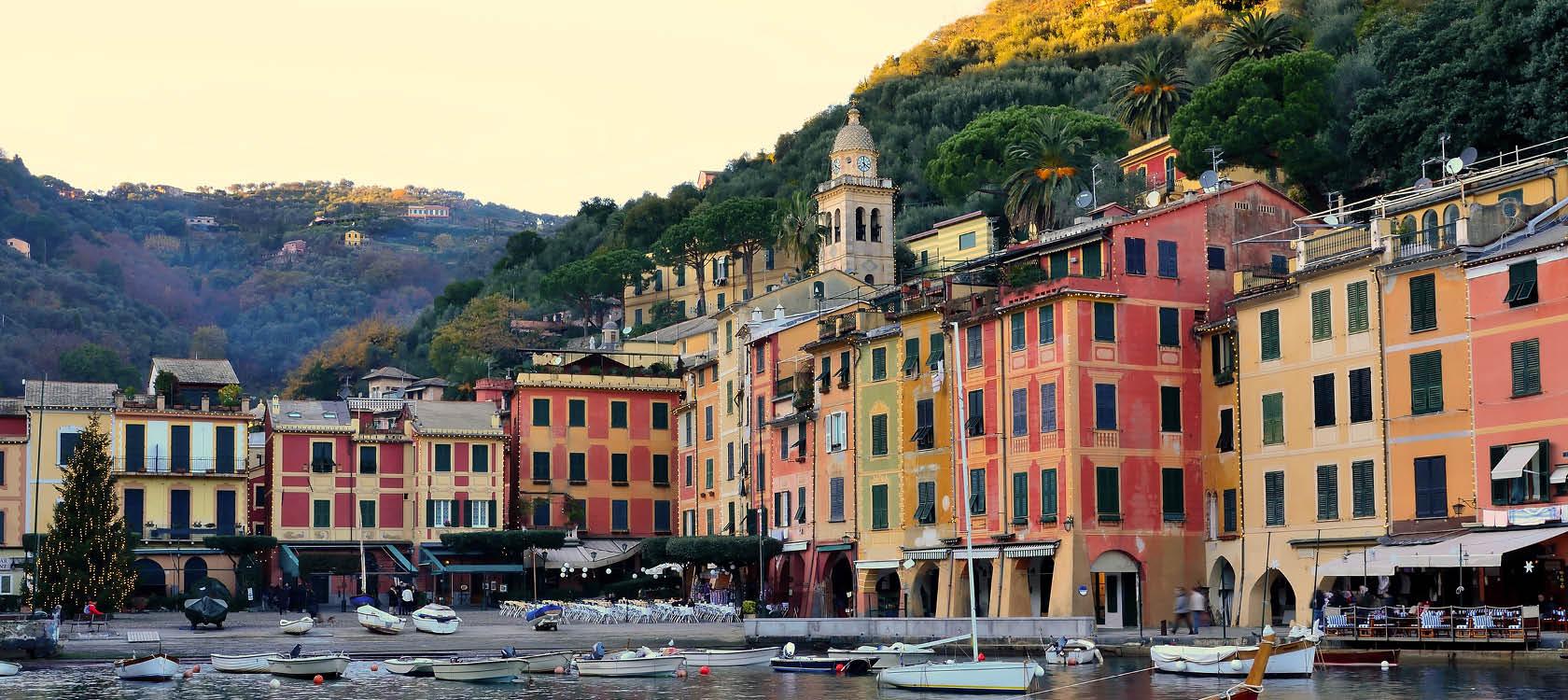 fem små byar i cinque terre på resa till italien