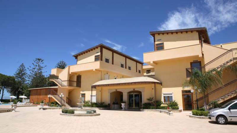 Hotel Villa Romana på den italienska ön Sicilien.