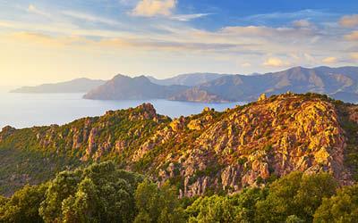 Medelhavsöarna Sardinien & Korsika