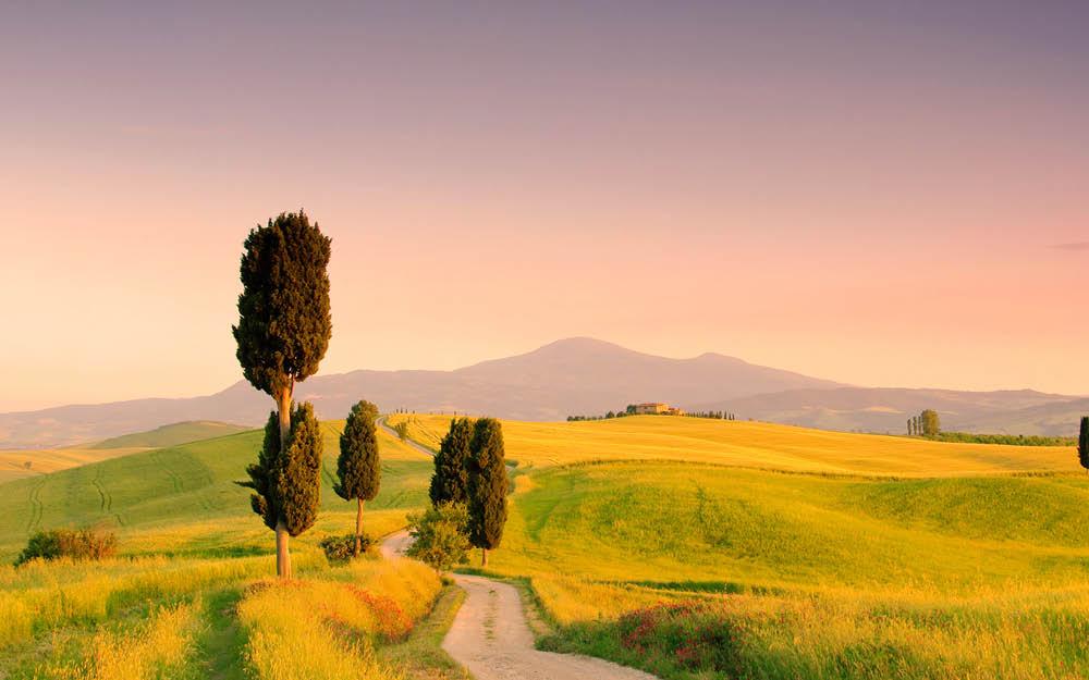 Underbara Umbrien & Toscana