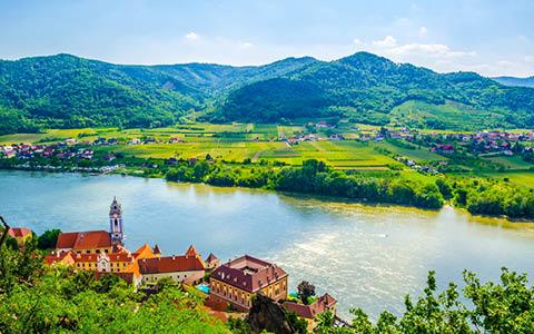 Drömlika Donaufloden