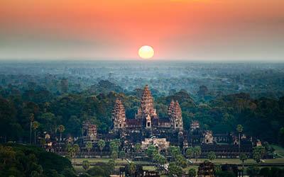 Mäktiga Mekongfloden