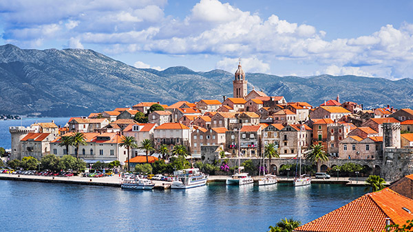 Sommarkryssning i Dalmatien