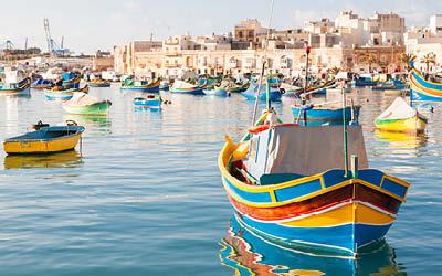 Ögonblick från Malta