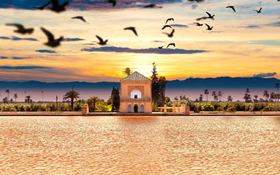 Mystiska Marocko