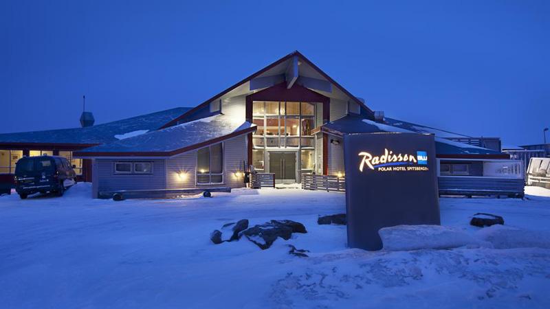 Radisson Blu Hotel på Svalbard.