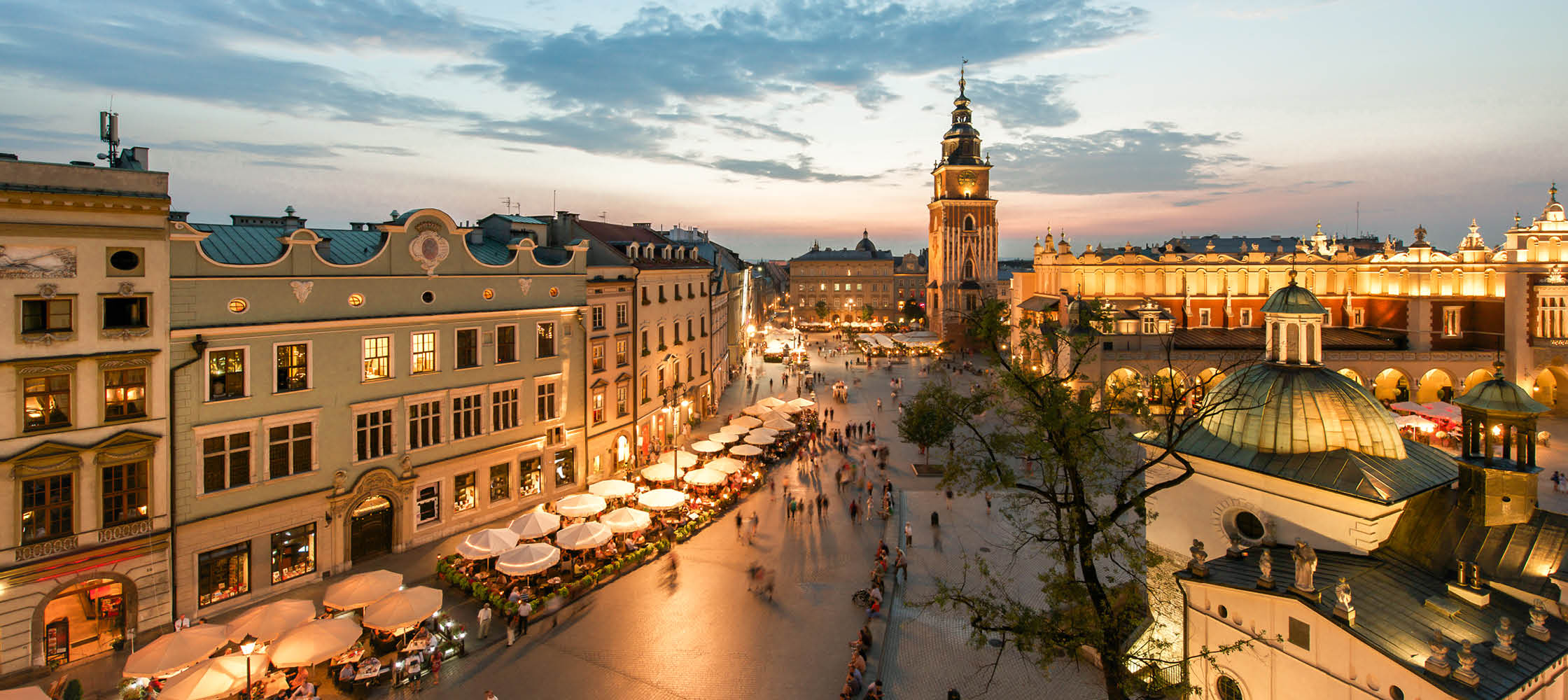 kultur och arkitektur i krakow, polen