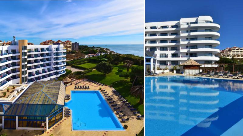 Förstklassiga hotellet Pestana Cascais på den portugisiska rivieran, nära Lissabon i Portugal.