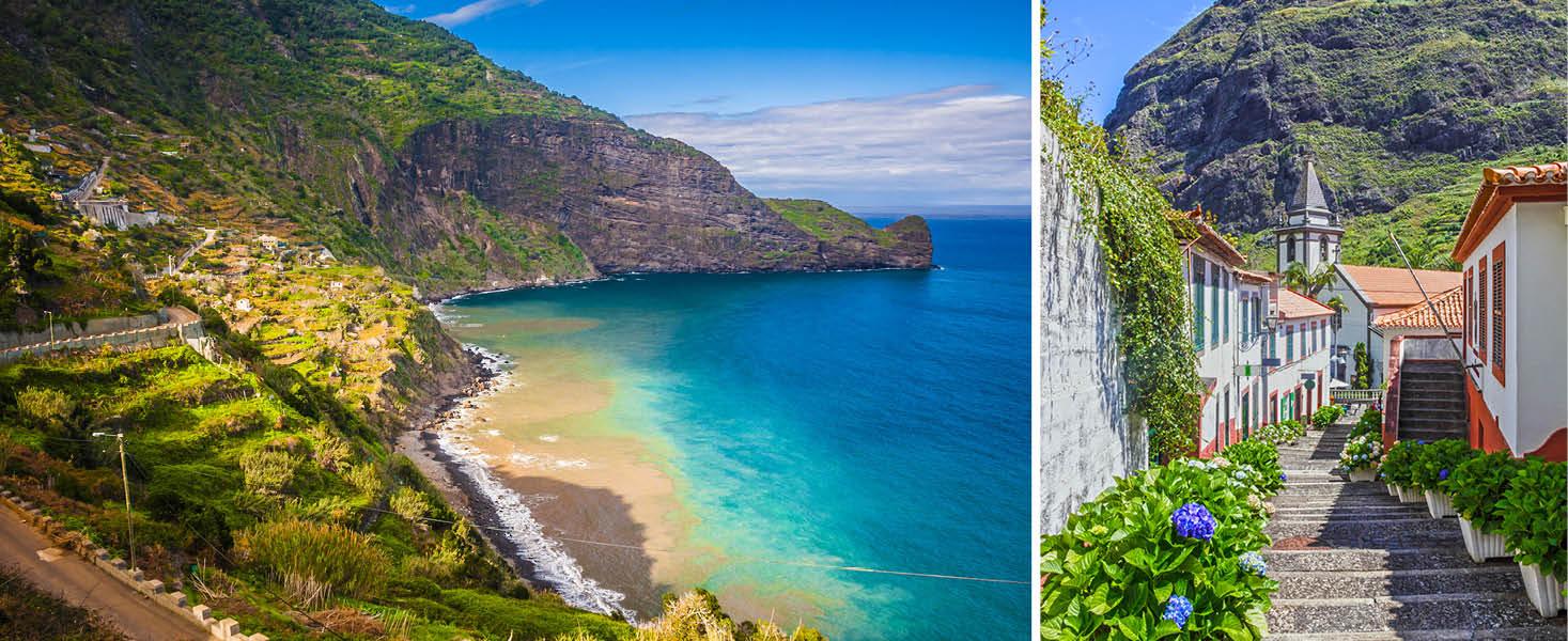 Vacker natur på Madeira