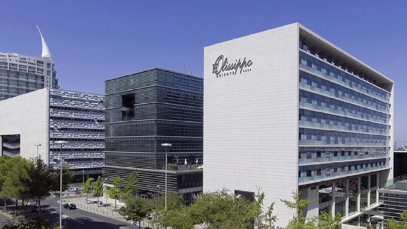 Hotell Olissippo Oriente i Lissabon i Portugal.