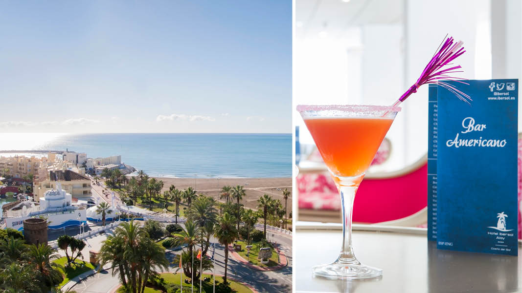 hotell i benalmadena med coctailbar i andalusien