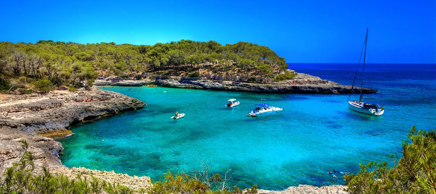 semester i mallorca med sol och hav