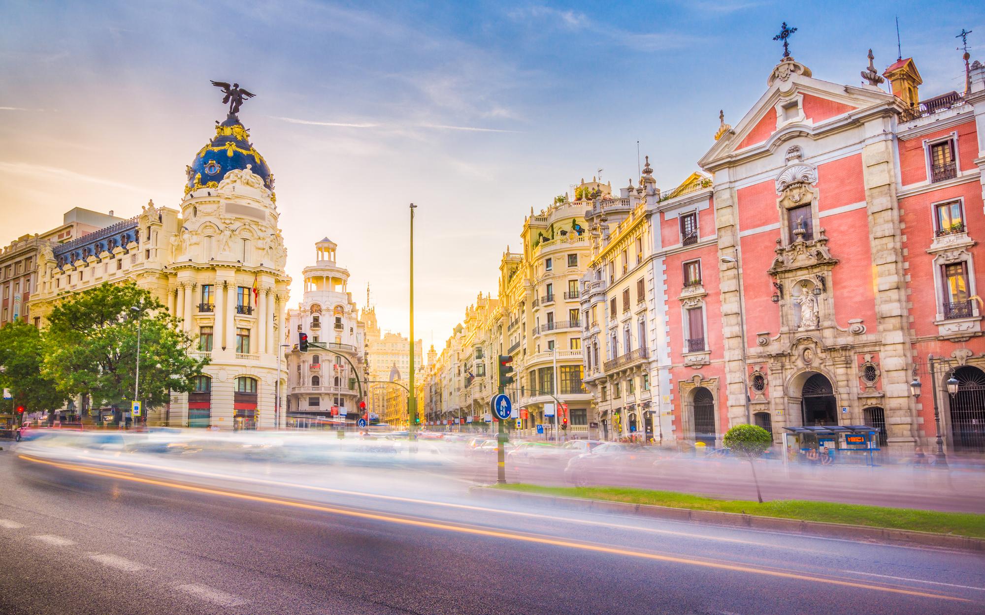 Kultur, tapas & konst i Madrid