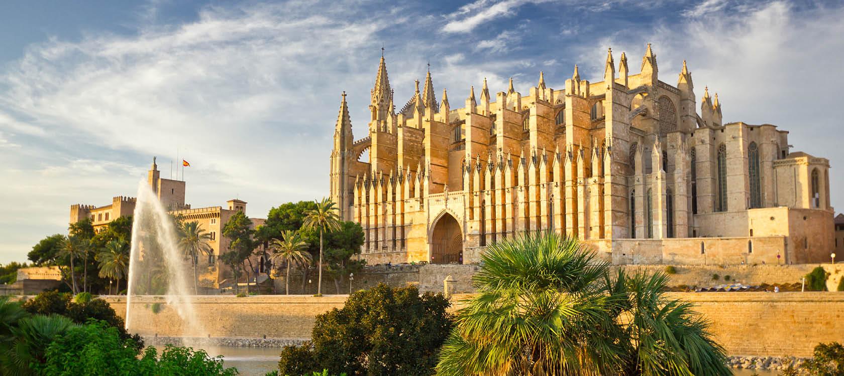sevärdheter på mallorca, katedralen la seu