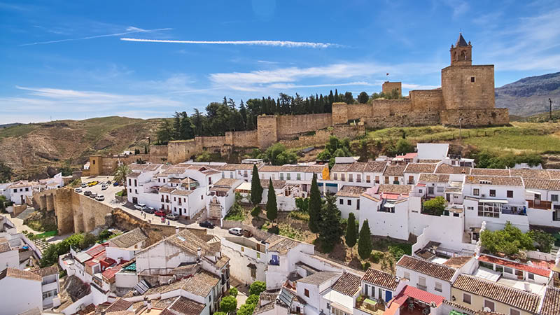 Antequera stad i Andalusien