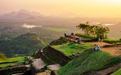 Färgstarka Sri Lanka