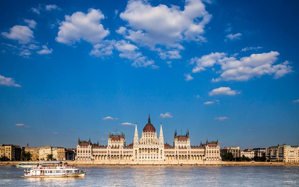 Bländande Budapest