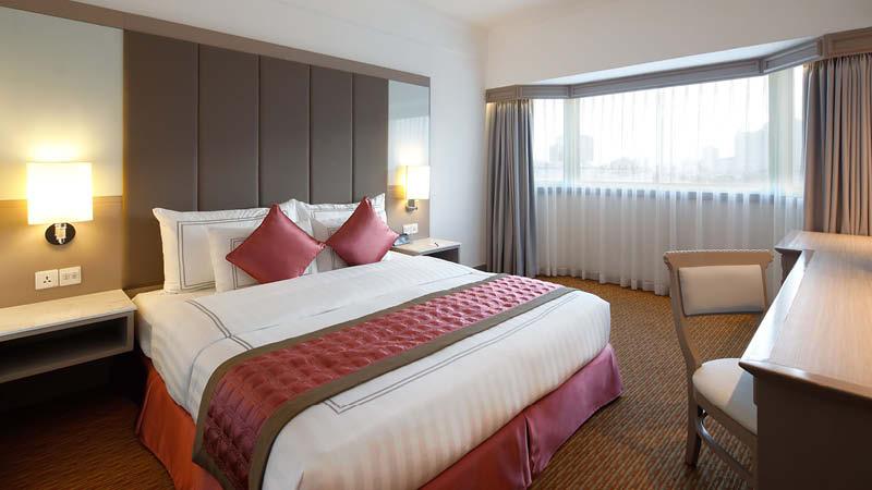Dubbelrum på ett 4-stjärnigt hotell i Hanoi, Sunway Hotel, på en resa till Vietnam.